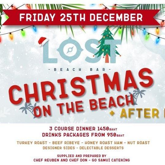 Lost Christmas Dinner & Xmas Party