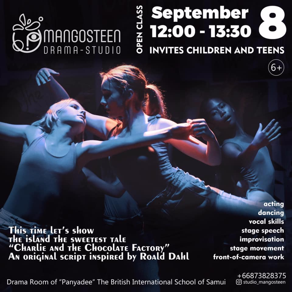Free Open Drama Class for kids and teens