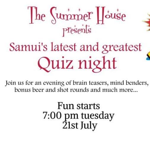 Quiz night is back