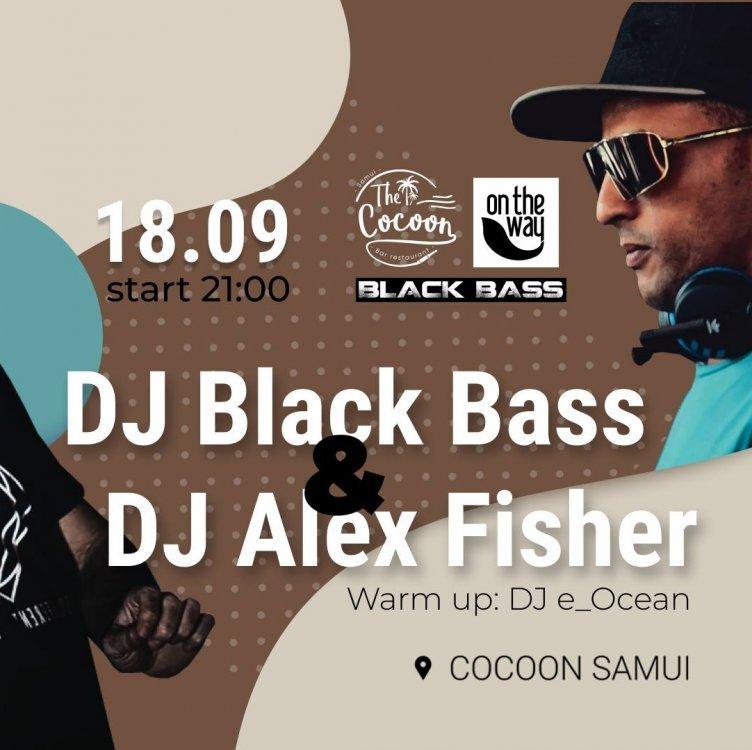Friday Party Dj Black Bass & Alex Fisher