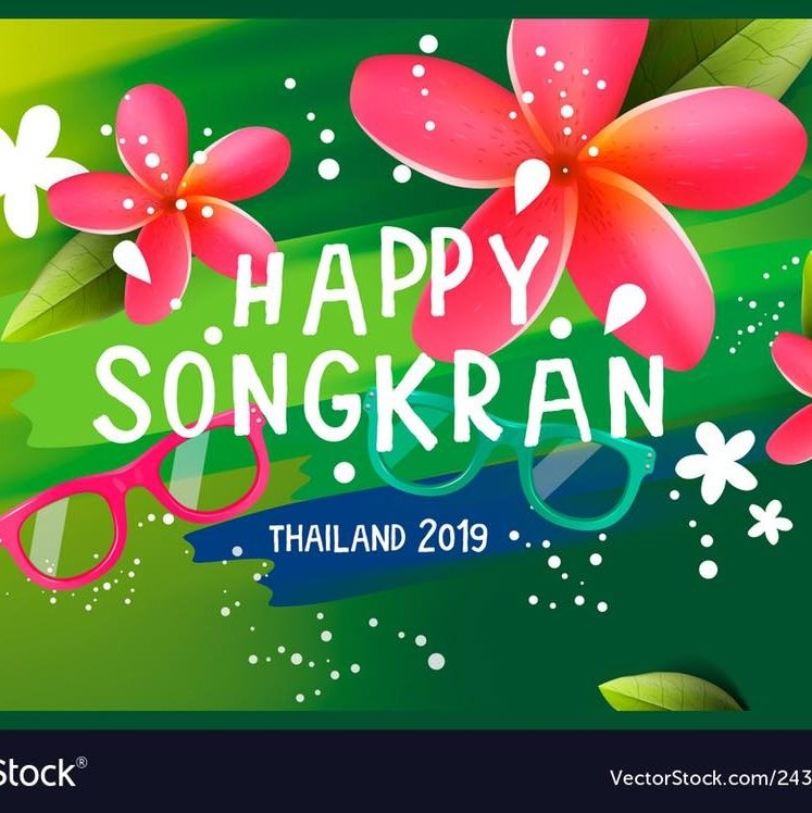 Songkran party 12-14.4.2019