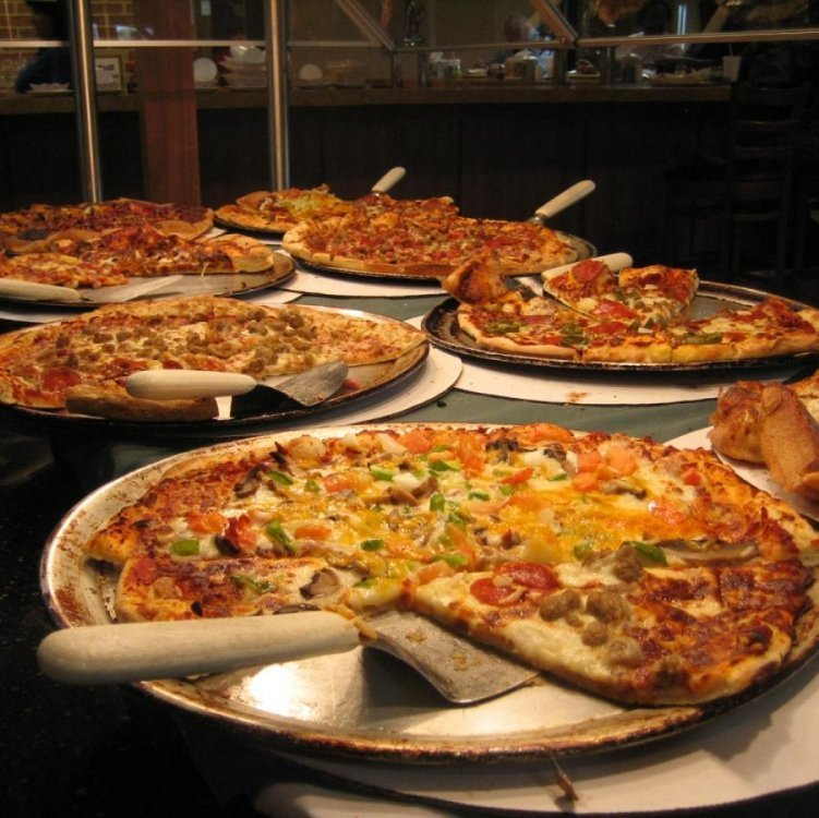 Pizza Night Buffet and Old School Party Event