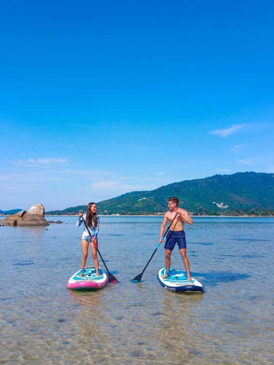 Trips on SUP Boards with discount from TimeSamui