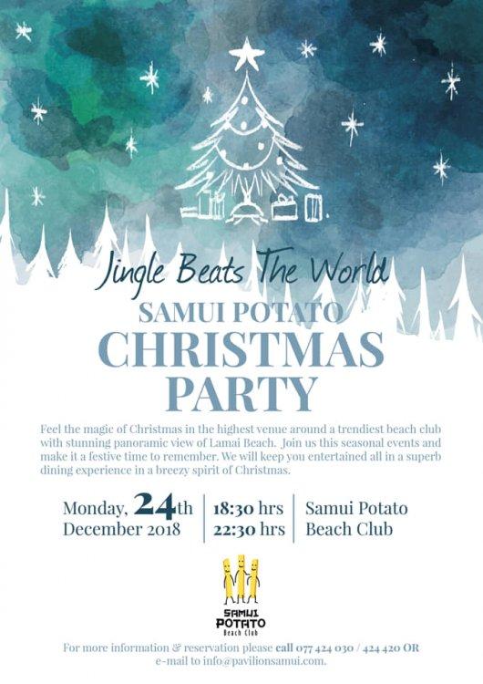 Samui Potato Christmas Party