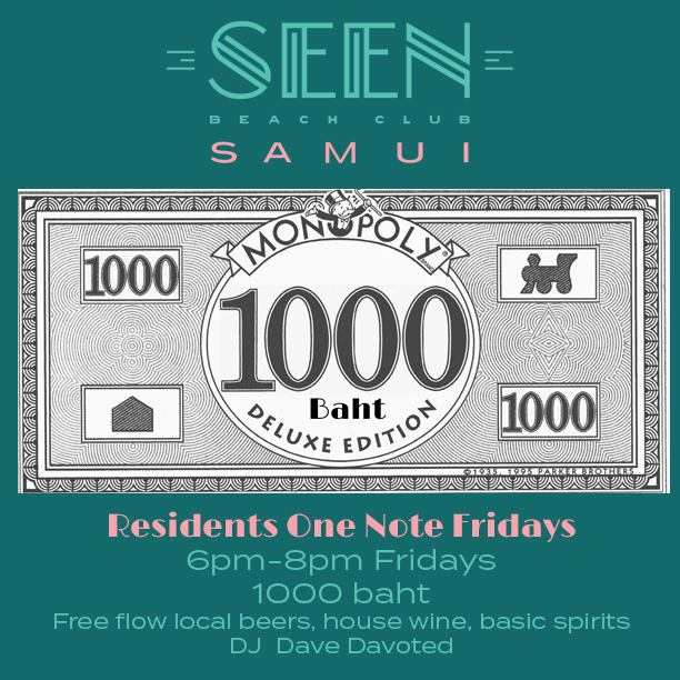 """Residents """"ONE NOTE"""" Free-Flow Fridays"""