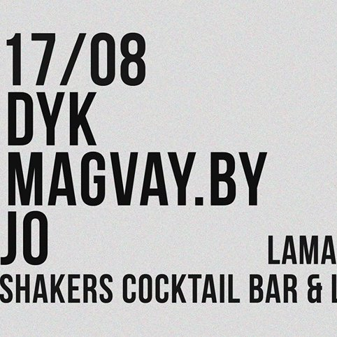 Shakers Pre Opening Party !!! Dj Jo/Dyk/Magvay