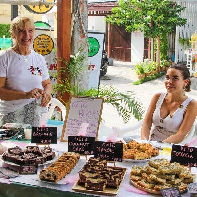 Xmas Green Market Samui ตลาดสีเขียว