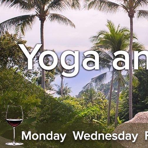 Unwind with Yoga and Wine