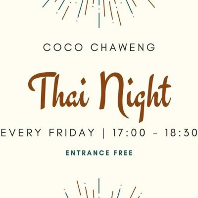 Thai Night // Friday's // CoCo Chaweng