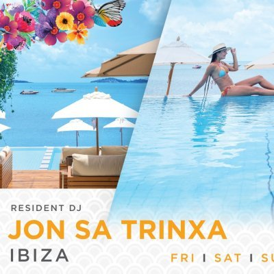 Weekends with IBIZA legend DJ Jon Sa Trinxa
