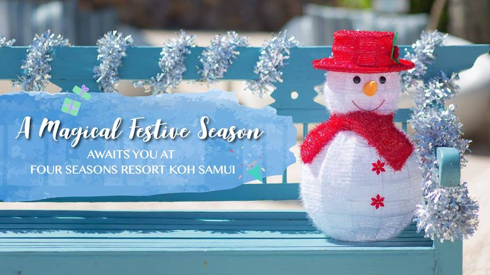 Celebrate the Festive Season with Four Seasons Resort Koh Samui