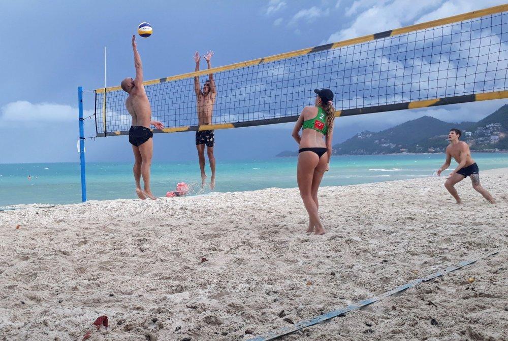 Koh Samui vs. Koh Phangan Inter-Island Beach Volleyball Tournament