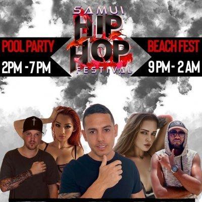 Samui Hip Hop Festival Pool Party