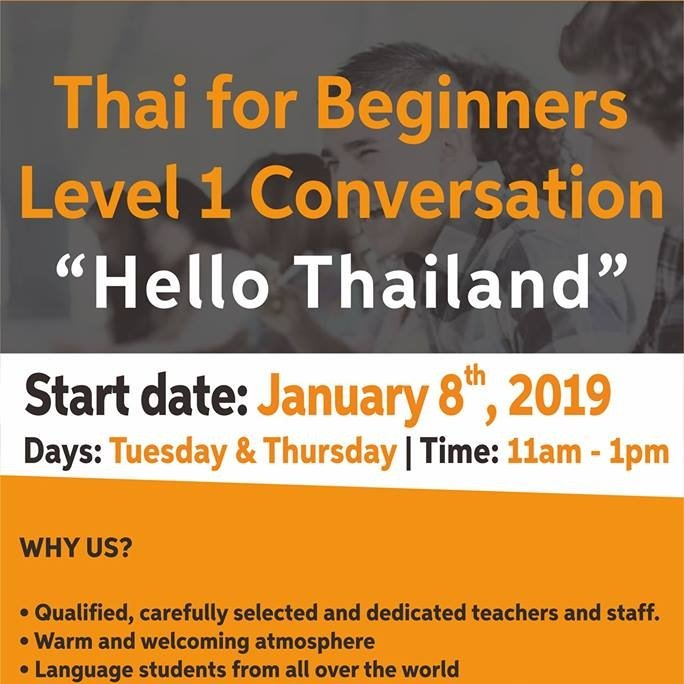 Thai Conversation Course for Beginners