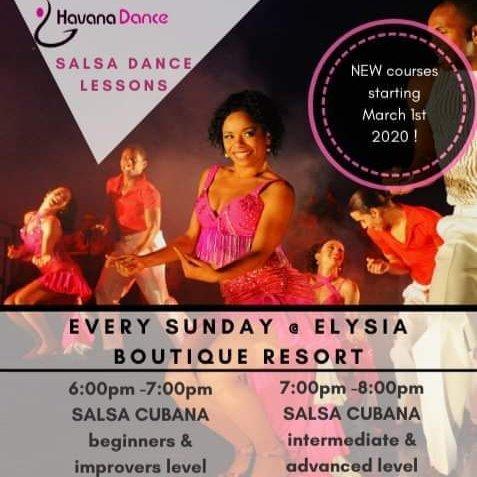 Salsa Dance Courses Koh Samui Every Sunday