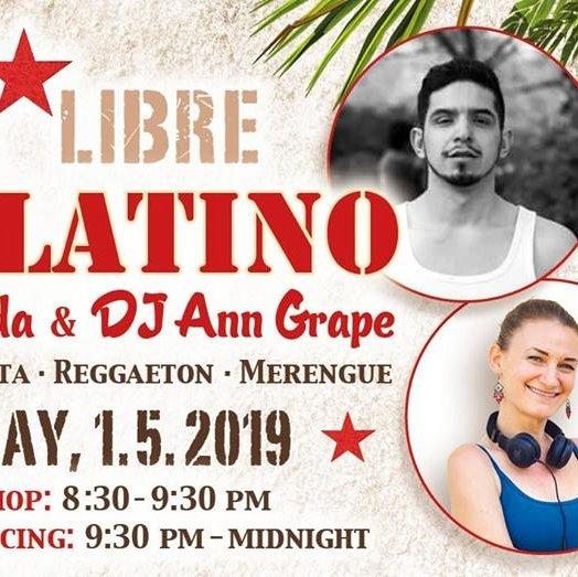 100% Latino Party with Julio Aranda and DJ Ann Grape