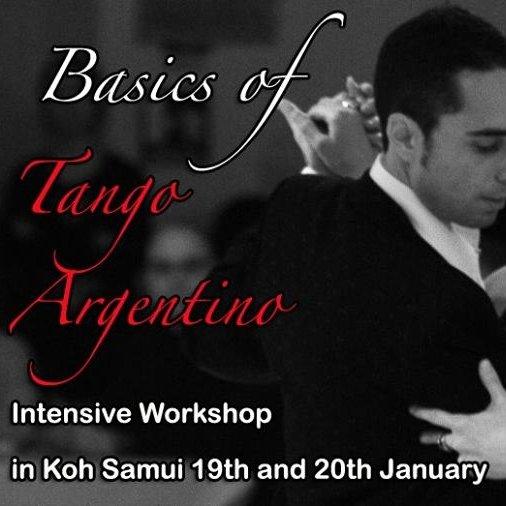 Tango Argentino Workshop In Koh Samui