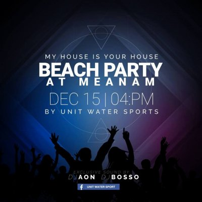 My House is Your House Beach Party
