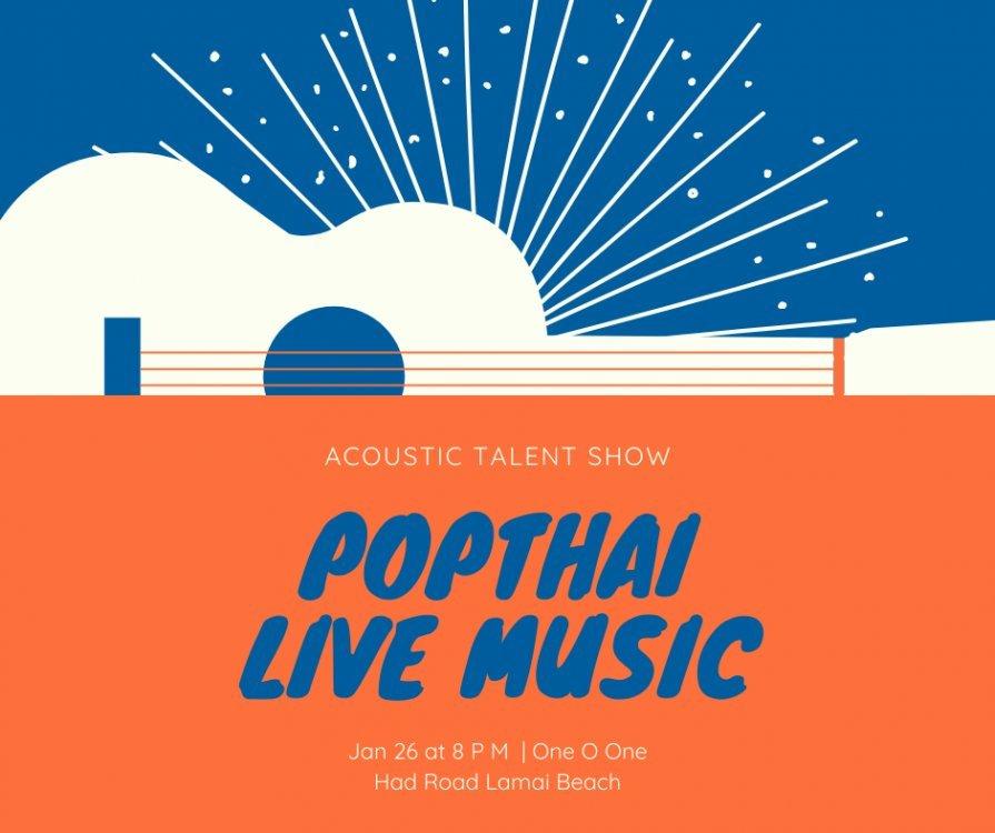 Acoustic Pop Thai Live Music