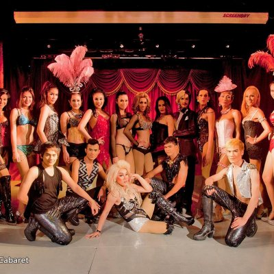 See a amazing ladyboy show