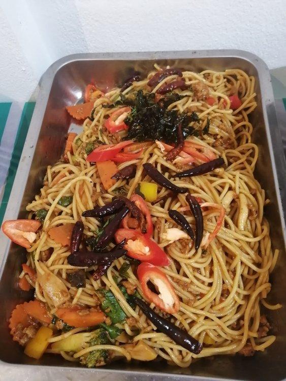 Plant based 🌿 buffet 🍝