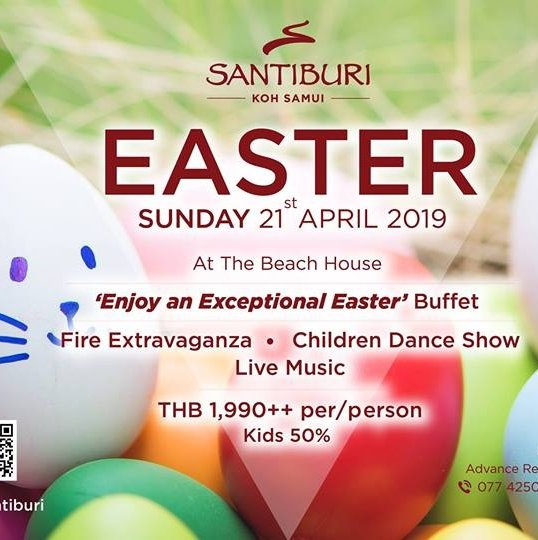 Easter Sunday at Santiburi Koh Samui