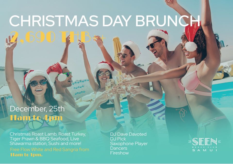 SEEN Beach Club Christmas Day Brunch