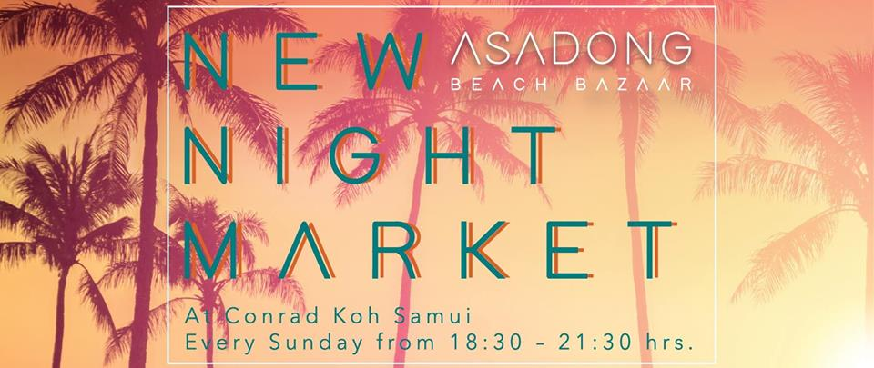 Asadong Beach Bazaar at Conrad