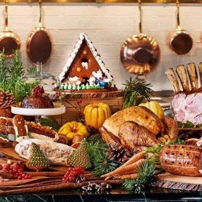 Family Christmas Buffet