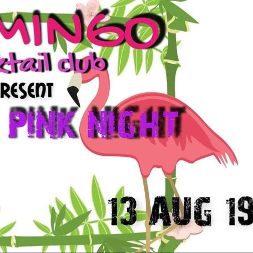 Flamingo Pink Night