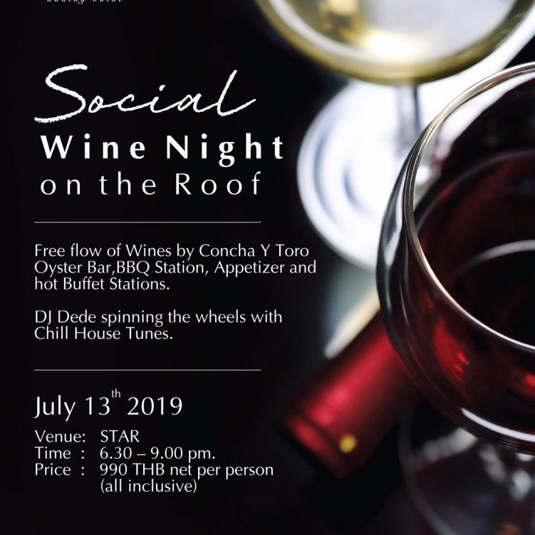 SOCIAL Wine Night on the Roof