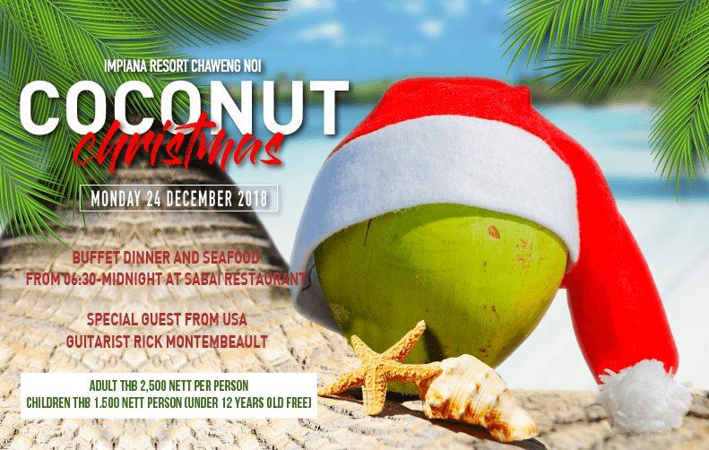 Christmas Eve Celebration at Impiana Resort Samui!