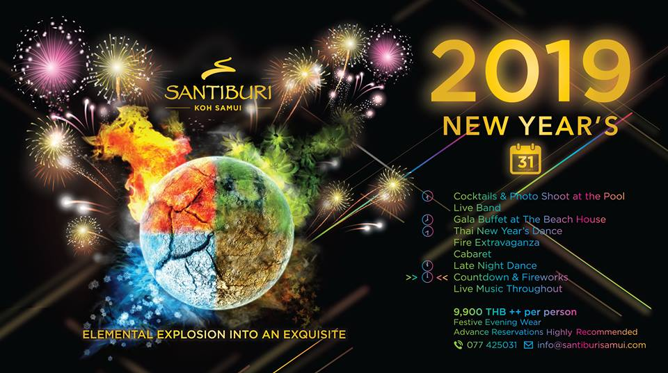 New Year's Eve at Santiburi Koh Samui