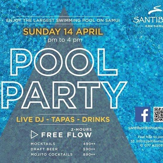 Pool Party at Santiburi Koh Samui