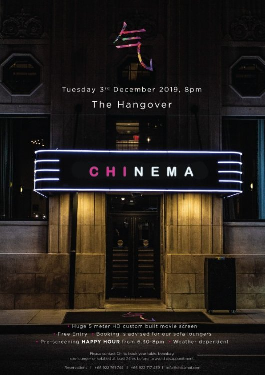 Chinema: The Hangover
