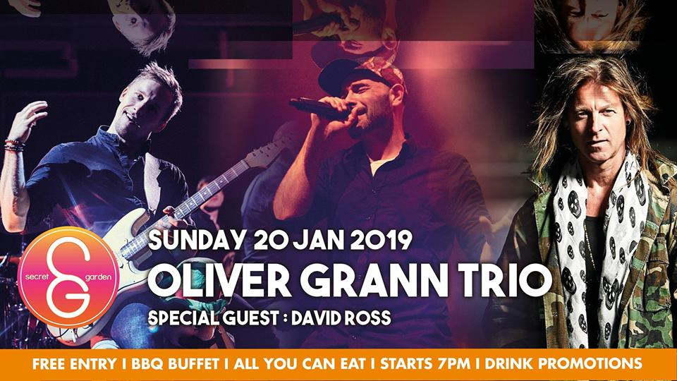 SG Sunday Sessions presents: The Oliver Grann Trio!