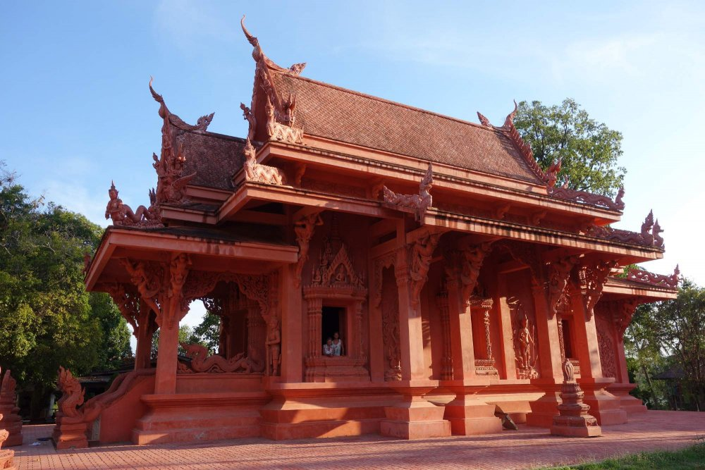 Find Red Thai Temple