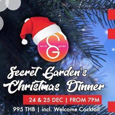 Secret Garden's Christmas Dinner 24 & 25 December 2020