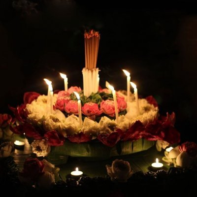 Make a wish at Loy Krathong