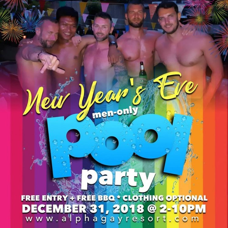 New Year's Eve Pool Party