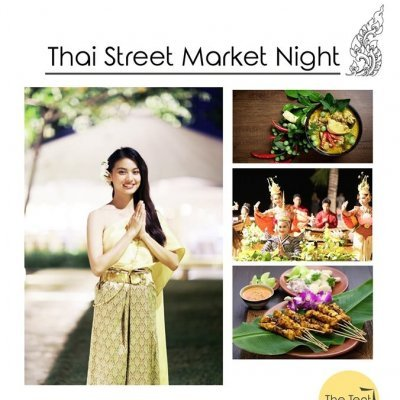 Thai Street Market Night