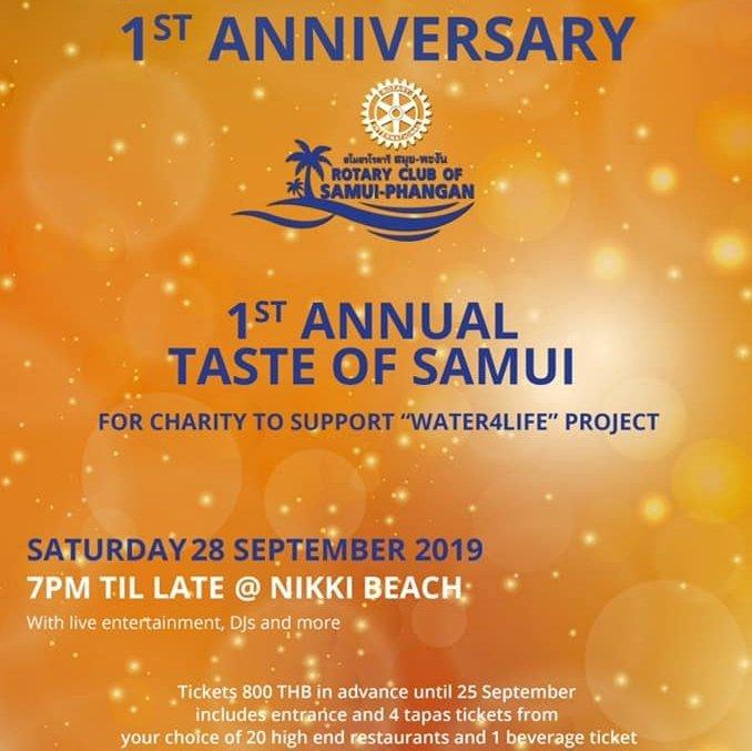 1st Anniversary & 1st Annual Taste of Samui