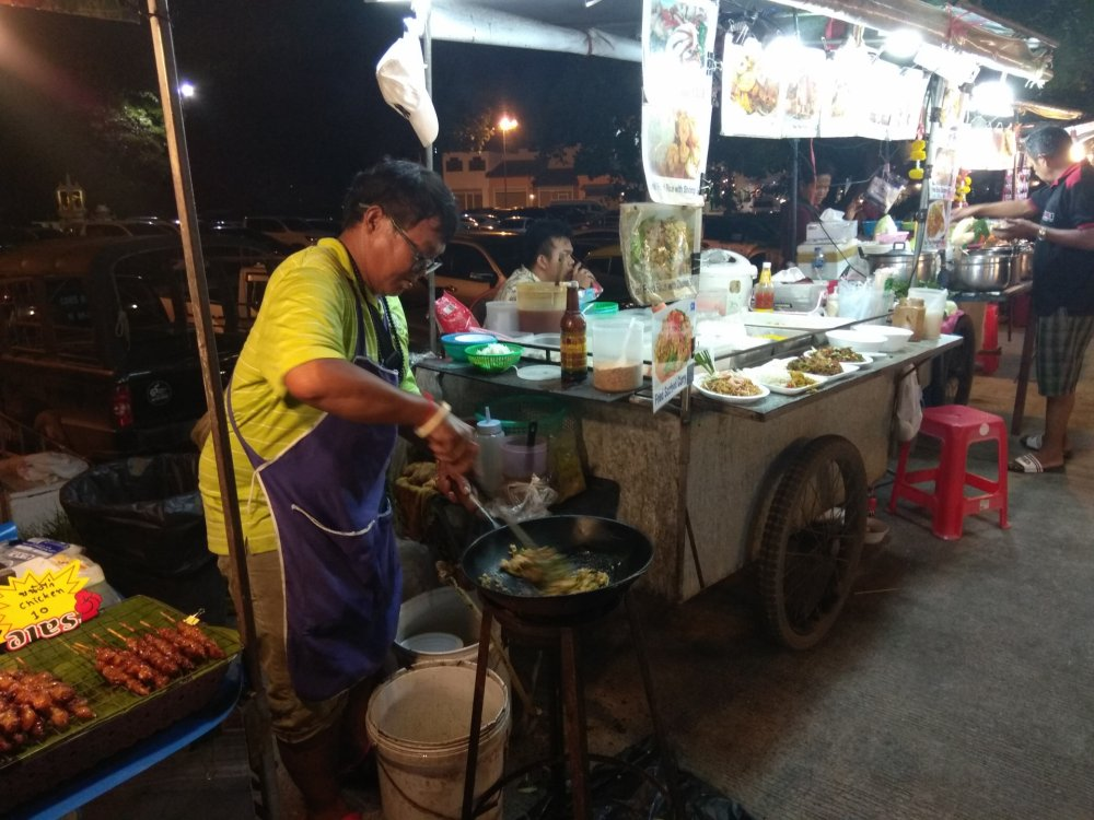 Night market on Bophut (The Wharf)