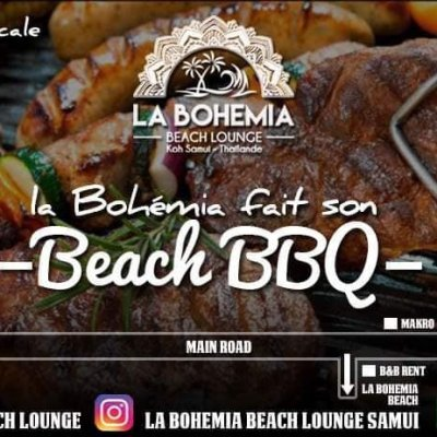 BEACH BBQ - LA BOHEMIA BEACH LOUNGE