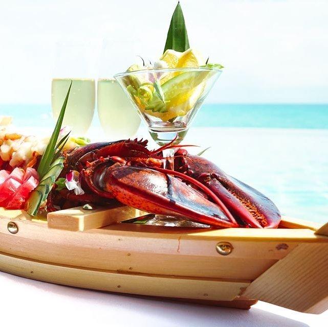 White Sea Sashimi & Champagne