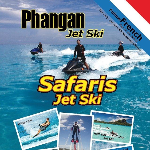 Jetski Safari around Phangan