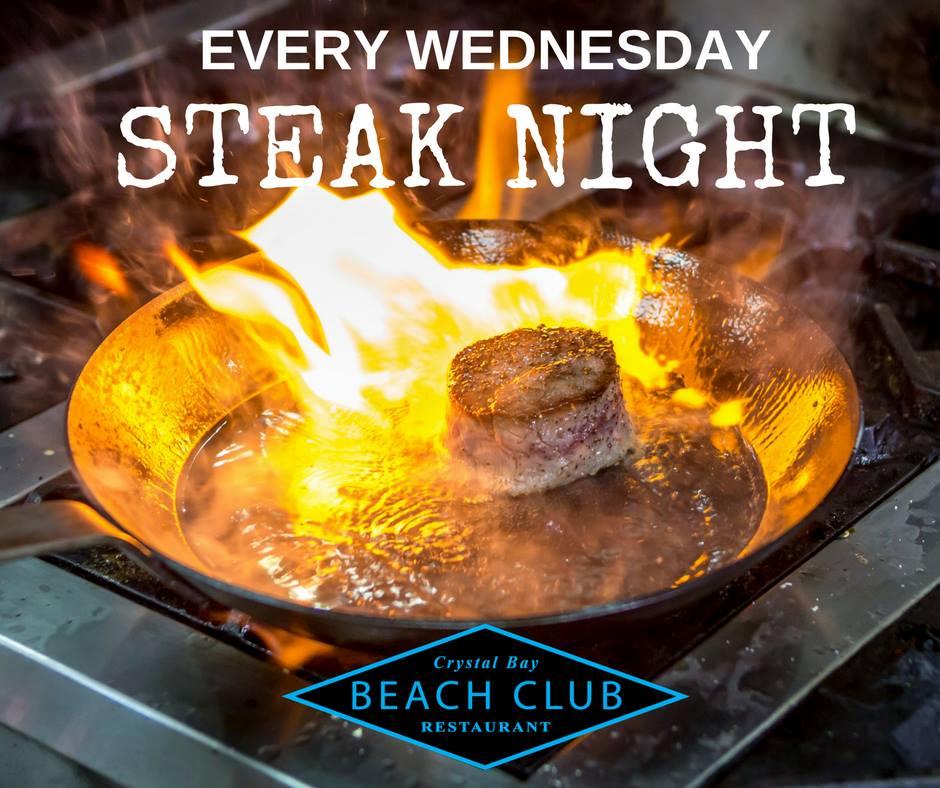 Steak Night With Live Music