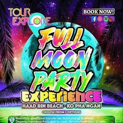 Full Moon Boat Pre-party Experience