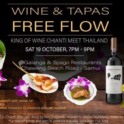 Wine & Tapas Night