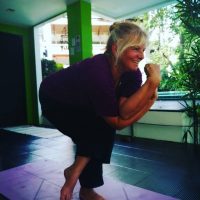 Hatha yoga with Grace